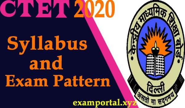 CTET Syllabus and Exam Pattern