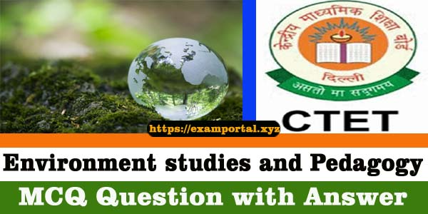 Environment Science MCQ question