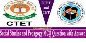 Social Studies and Pedagogy