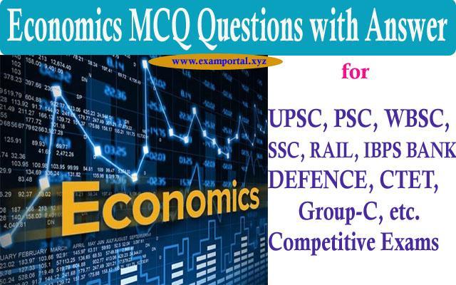 Economics MCQ questions