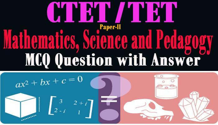 Mathematics, Science and Pedagogy