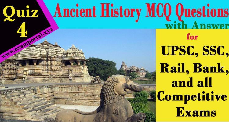 Ancient History Mcq Questions